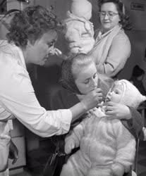 Egészségügy - Gyermekbénulás elleni védőoltás