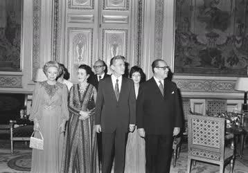 Külpolitika - Lázár György Párizsban