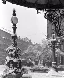 Városkép - Időjárás - A havas Nagykörút