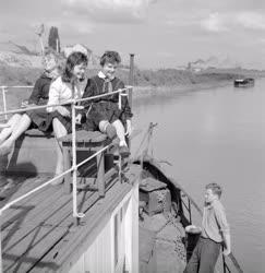 Szervezet - Hajót kaptak a szegedi úttörők