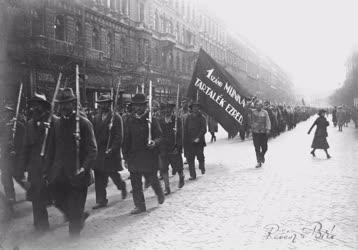 Történelem -  1919 - Munkásezred