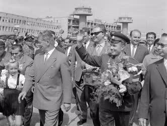 Külkapcsolat - Személy - Jurij Gagarin Budapesten