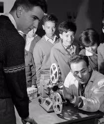 Oktatás - Szabadidő - Iskolai filmstúdió