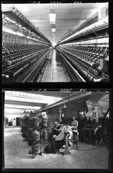 Ipar - Textilipar - Győri Gyapjúfonó és Szövőgyár