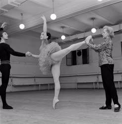 Kultúra - Olga Lepesinszkaja balettfoglalkozást tart