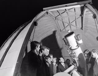 Tudomány - Diákok a csillagvizsgálóban