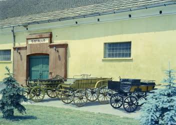 Kultúra - Ipar - A Bábolnai Kocsimúzeumban