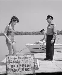 Rendőrség - Vízirendőrök a Dunán