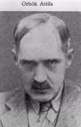 Orbók Attila, író, újságíró