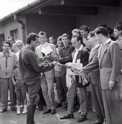 Sport - 1961-es magyar öttusabajnokság