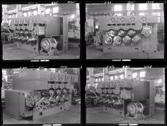 Ipar - Csepel Vas- és Fémművek - Szalagtekercselő gép