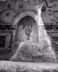 Műemlék - Ókeresztény sírkamra Pécsett