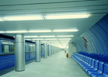 Közlekedés - Metró - A 3-as metró vonalán