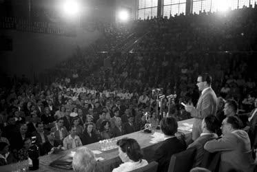 Belpolitika - Az Országos Béketanács nagygyűlése