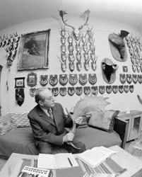 Életkép - Hobbi - Szabolcs József vadász trófeagyűjteménye