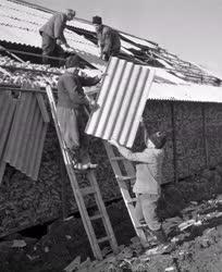 Időjárás - Viharkár Vezsenyen