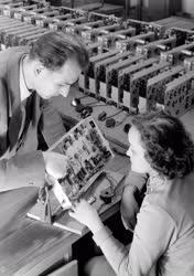 Műszeripar - Televíziós vevőkészülékek gyártása az Orion Gyárban