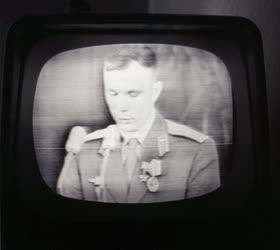 Média - Gagarin sajtófogadása