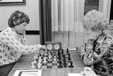 Sport - Sakk - Az országos női sakkbajnokságon