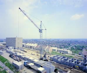 Városkép - Építőipar - Új lakótelep épül Szekszárdon