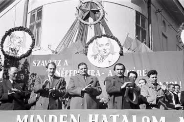 Belpolitika - Választási gyűlés Székesfehérvárott