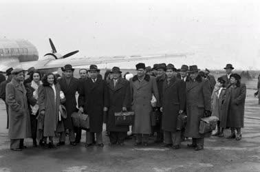 Külkapcsolat - Szovjet delegáció érkezése Budapestre