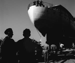 Ipar -  Járműipar - A Gheorgiu Dej Hajógyárban