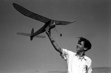 Sport - Repülőmodellező Budaőrsön