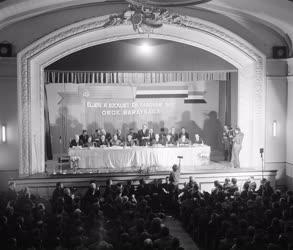 Külkapcsolat - Szovjet űrhajós- és tudósküldöttség Miskolcon