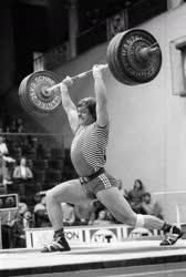 Baczakó Péter olimpiai bajnok súlyemelő, edző