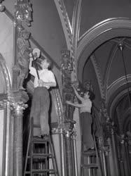 Műemlékvédelem - Felújítják az Országház üléstermét