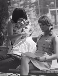 Filmművészet - Az Elsietett házasság forgatása