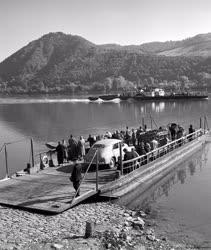 Vízi közlekedés - A nagymarosi komp