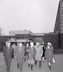 Belpolitika - Ipar - Fock Jenő az Oroszlányi Hőerőműben