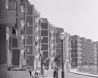 Városkép - Thälmann utcai lakótelep