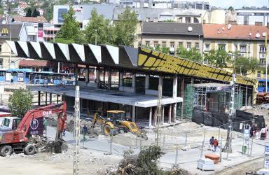 Építkezés - Budapest - Felújítják a Széll Kálmán teret