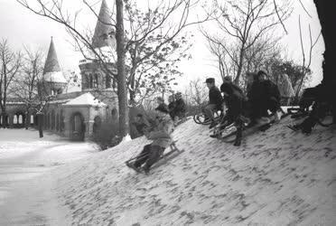 Időjárás - Budapesti téli képek
