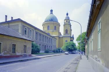 Városkép - A ceglédi református templom