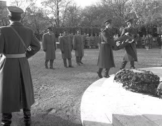 1956-os megemlékezés - Koszorúzási ünnepség
