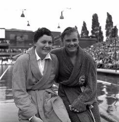 Úszás - Magyarország - Nagy-Britannia úszóverseny