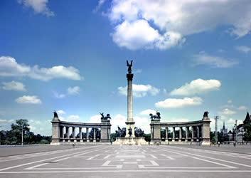 Városkép - Budapest - Hősök tere