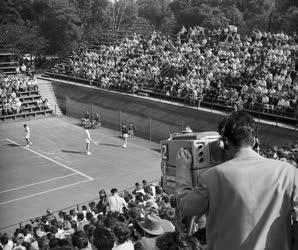 Sport - Tenisz - Magyarország - Svédország