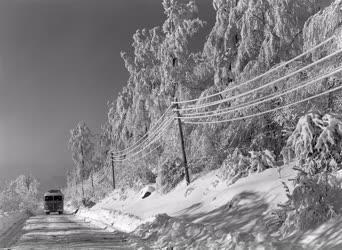 Magyarországi képek - Tél a Mátrában