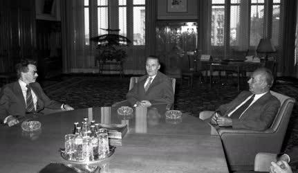 Diplomácia - Lázár György az MVSZ főtitkárát fogadta