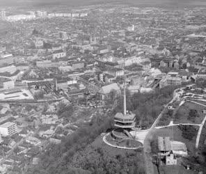 Városkép - Miskolc látképe a tévétoronnyal