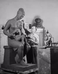Kultúra - Szobrászat - Balázs István szobrászművész