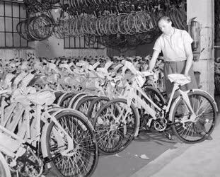 Ipar - A  Csepel Vas- és Fémművek Kerékpárgyára