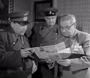 Díj - Szovjet kitüntetést kap Dr. Hornyánszky Károly