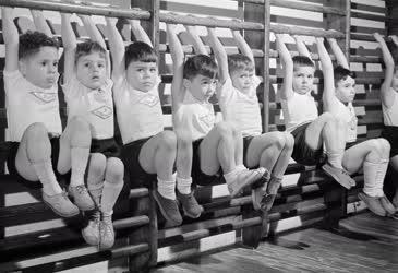 Sport - Oktatás - Gyermektorna a Spartacusban