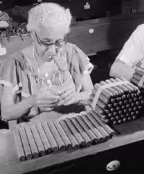 Dohányipar - Havannai szivargyár